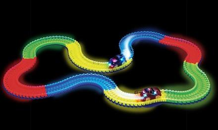 1 of 2 flexibele magische glowinthedark circuits bestaande uit 240 onderdelen
