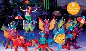 Opus Promções: Disney on Ice, Mundos Fantásticos – Ginásio Nilson Nelson: ingresso para plateia superior laranja dia 03/06, às 19h30