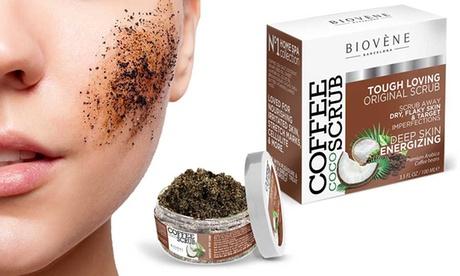 1 o 2 exfoliantes corporales de café Biovène