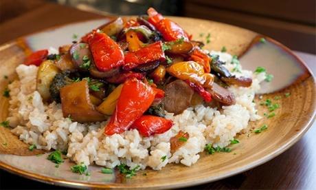 Menú vegetariano para 2 entre semana o en fines de semana en Ecocentro (hasta 36% de descuento)