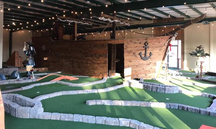 Mini Golf Pirate Putt Indoor Miniature Golf Groupon