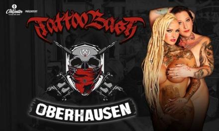 """2 Wochenend -oder Tagestickets für die """"TattooBash Oberhausen"""" am 21./22.10. in der Turbinenhalle (50% sparen)"""