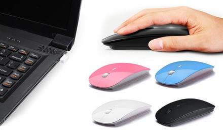 Kabellose optische Maus mit USB-Anschluss in der Farbe nach Wahl inkl. Versand (bis zu 56% sparen*)