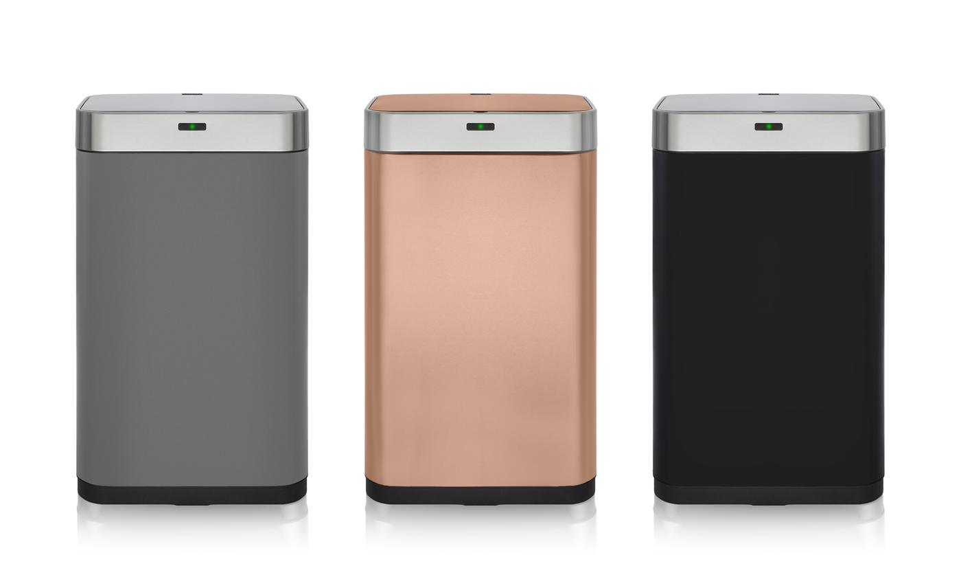 Tower 75-Litre Rectangular Sensor Bin in a Choice of Colour With Free Delivery
