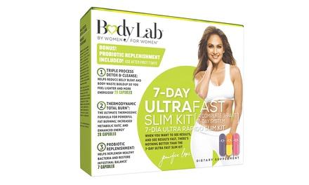 Body Lab Jennifer Lopez 7-Day Ultra Fast Slim Kit