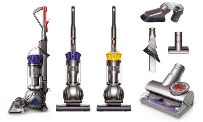 dyson ball upright vacuum with extra tools certified refurbished livingsocial. Black Bedroom Furniture Sets. Home Design Ideas