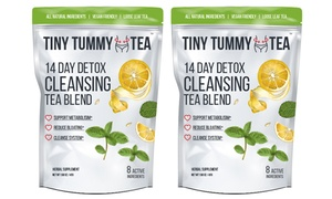 Tiny Tummy Tea Detox Cleansing Tea Blend (14- or 28-Day) at Tiny Tummy Tea Detox Cleansing Tea Blend (14- or 28-Day), plus 6.0% Cash Back from Ebates.