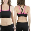 Women's Double-Panel Layered Sports Bras (4-Pack)