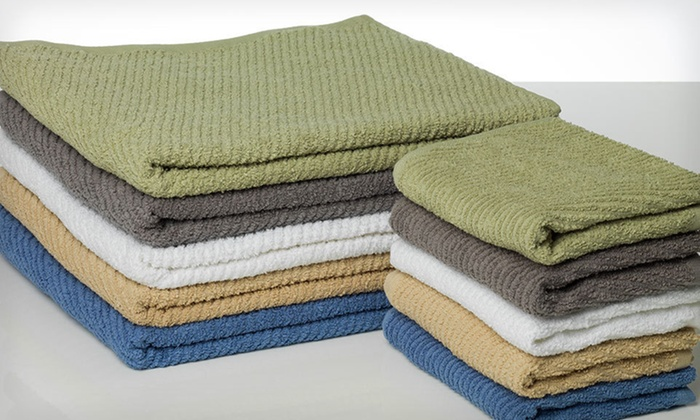 Flash Dry Six-Piece Cotton Towel Set: $25 for a Flash Dry Six-Piece Towel Set ($49.99 List Price). Five Colors Available. Free Shipping and Free Returns.
