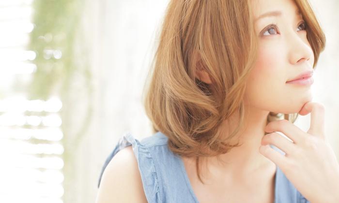hair salon Zina shinjyuku - 新宿区: 【最大75%OFF】人気ヘアサロンで、潤いのあるしなやかな髪に≪カット+水カラー+ハホニコトリートメント/他2メニュー≫ @ hair salon Zina shinjyuku