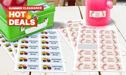 .50 for a 48Pack of Personalised Children's Vinyl Name Labels Don't Pay up to $99.95