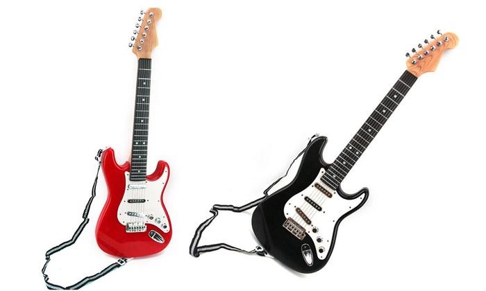 beginner electric guitar groupon. Black Bedroom Furniture Sets. Home Design Ideas