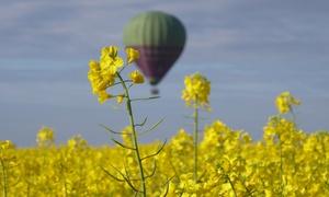 Vol en montgolfière au dessus de Châteaux de la Loire