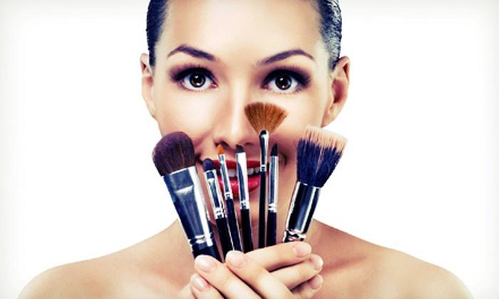 Jennifer Bradley Cosmetics at Oren Salon - City Center: BYOB Makeup Class and Hors D'oeuvres for One, Two, or Four at Jennifer Bradley Cosmetics at Oren Salon (82% Off)