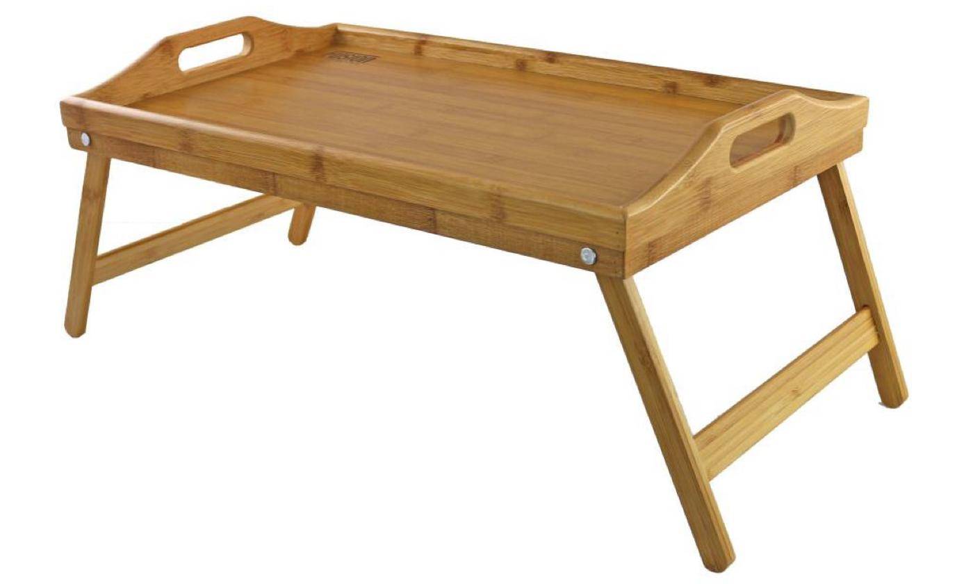 One or Two Bamboo Breakfast Trays