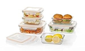Glasslock Ovenproof Retro Food-Storage Sets