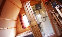 Chepstow: Up to 3-Night Wigwam Stay for Up to Five People with Wigwam at NDAC