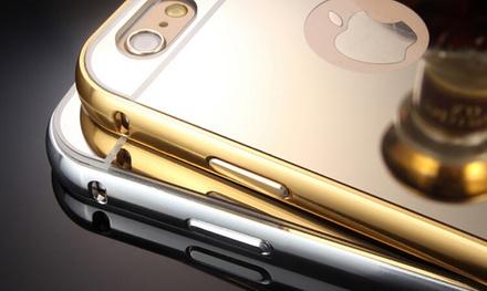1 o 2 carcasas efecto espejo para iPhone 6, 6+, 6S, 6S+, 7, 7+