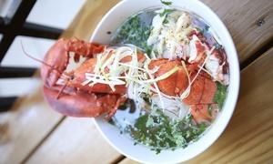 45% Off at Pho Pho Pho Noodle Kitchen and Bar at Pho Pho Pho Noodle Kitchen and Bar, plus 6.0% Cash Back from Ebates.