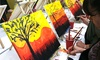 48% Off a Sip & Paint BYOB Painting Event