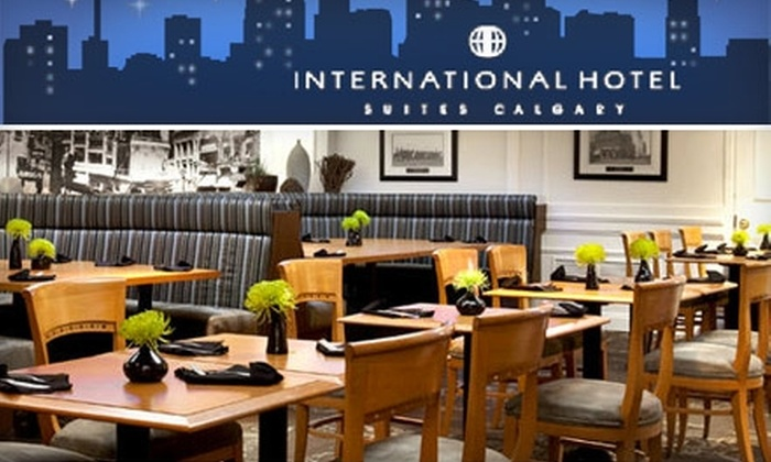 4th Avenue Café and Lounge at the International Hotel Suites Calgary - Downtown: $10 for $20 Worth of Food and Drink at the 4th Avenue Café and Lounge at the International Hotel Suites Calgary