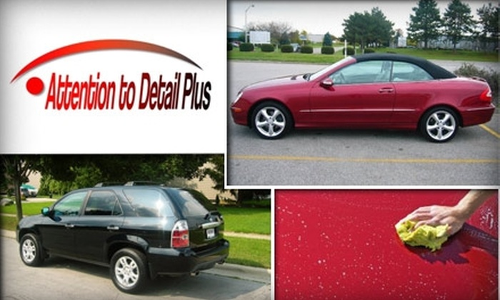 Attention to Detail Plus - Northwest Columbus: $40 for a Vehicle Exterior Detail Package from Attention to Detail Plus ($85 Value)