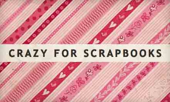 Crazy For Scrapbooks - Harrisville: $8 for $16 Worth of Scrapbooking Supplies at Crazy For Scrapbooks