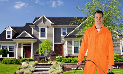 image for $45 for an Interior and Exterior Home Pest-Control Treatment, with Green/Organic Option ($190 Value)
