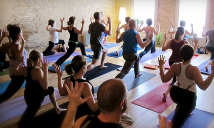 Yoga Ward - Walker's Point: 5 or 10 Detox or Kinetic Flow Classes or Five Yoga Sculpt Classes at Yoga Ward (Up to 68% Off)