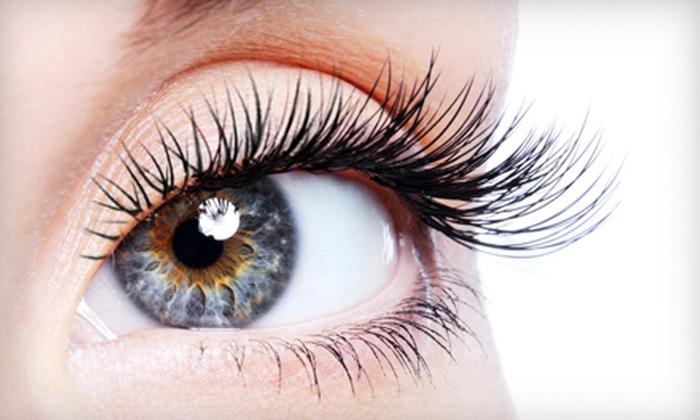 Fringes Studio Salon and Spa - Knoxville: Eyelash or Hair Extensions at Fringes Studio Salon and Spa