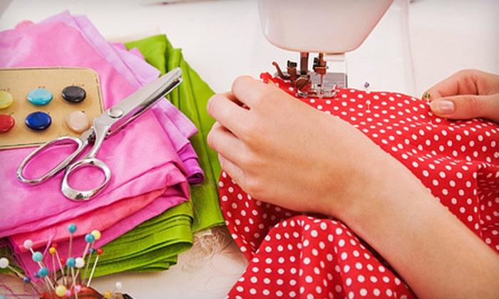Chenoa Designs - Burlington: Sewing Classes at Chenoa Designs in Burlington (Up to 56% Off). Four Options Available.
