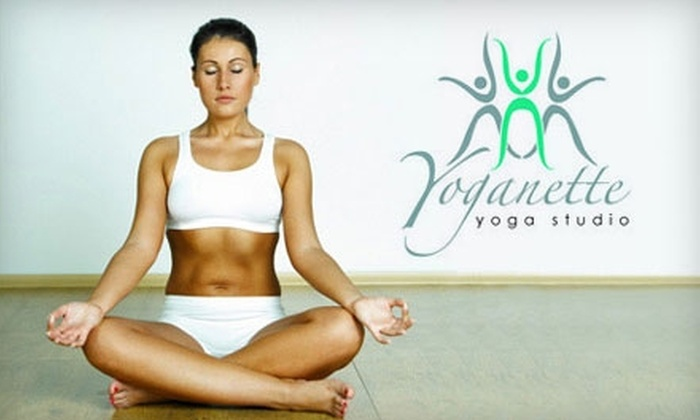 Yoganette Yoga - Rowland: $49 for a Month of Unlimited Yoga Classes at Yoganette Yoga in West Covina (Up to $119 Value)