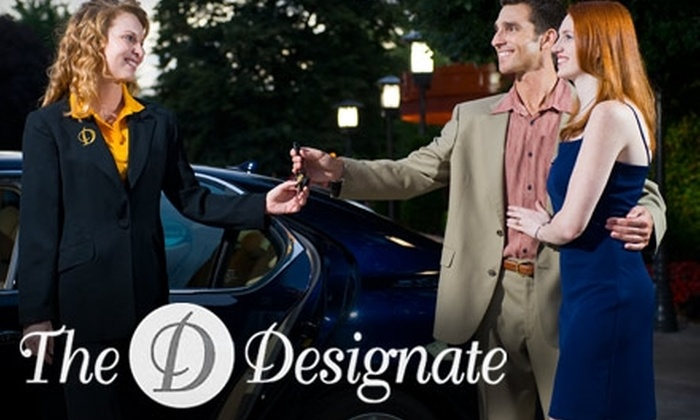 The Designate - Detroit: $59 for Four Hours of Personal Chauffeur Services from The Designate ($120 Value)