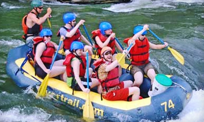 River & Trail Outfitters - Washington DC: $50 for a Rafting and Biking Adventure with River & Trail Outfitters in Knoxville, MD (Up to $90.80 Value)