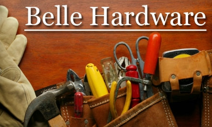 Belle Hardware - Upton: $10 for $20 Worth of Hardware and More at Belle Hardware