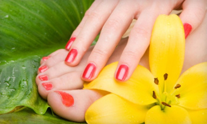 Sonia's Spa - Miami: Shellac or Gel Manicure or Spa Mani-Pedi at Sonia's Spa (Up to 55% Off)