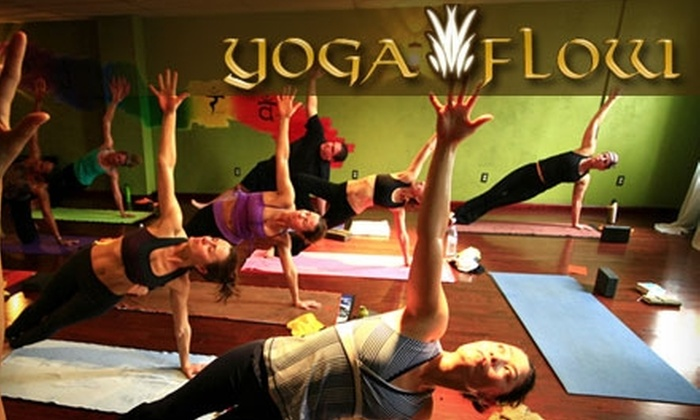 Yoga Flow - Multiple Locations: $50 for a 10-Class Punch Pass to Yoga Flow (Up to $110 Value)