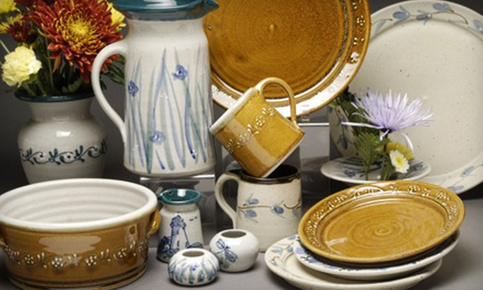 Great Bay Pottery - Amesbury: $20 Worth of Pottery