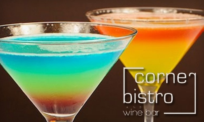 Corner Bistro & Wine Bar - Windy Hill: $20 for $40 Worth of Food and Drink at Corner Bistro & Wine Bar