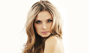 K Divine Hair Salon: Haircut and Optional Color or Blow Dry and Flat Iron (Up to 49% Off). Four Options Available.