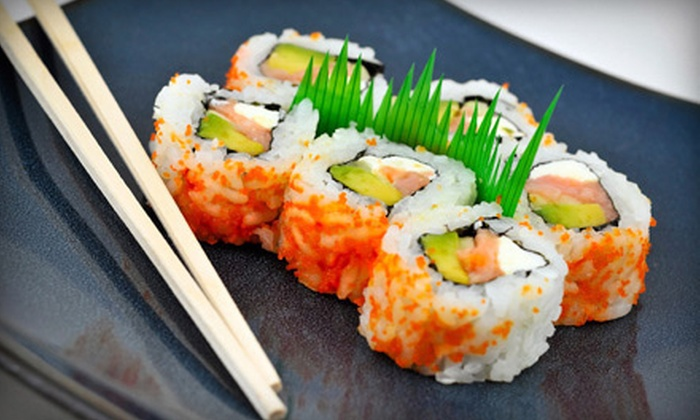 Ponzu Sushi - North Side: $30 Worth of Japanese and Chinese Fare