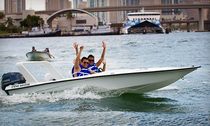 SpeedBoat Tours - Media and Entertainment District,Performing Arts District,Seybold: Speedboat Tour for Two or Four from SpeedBoat Tours (Up to 55% Off)