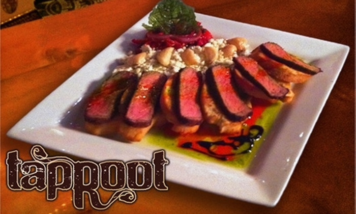 Tap Root - Anchorage: $20 for $40 Worth of Upscale American Comfort Fare at Tap Root