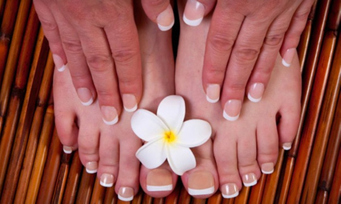 Elysium Day Spa - 31: $25 for Mani-Pedi at Elysium Day Spa in Brentwood ($50 Value). Four Options Available.
