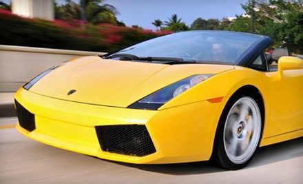 60-Minute Luxury Car Rental (a $199 value) - Xotic Dream Cars in West Palm Beach