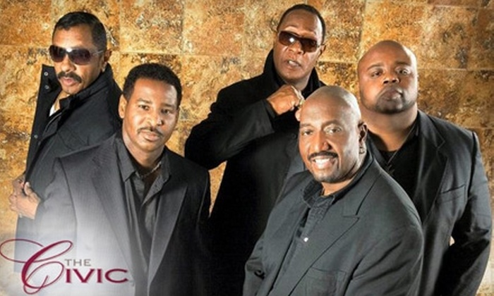 Akron Civic Theatre - Downtown: $18 for One Reserved Ticket to The Temptations Concert on February 3 at the Akron Civic Theatre ($37 Value)