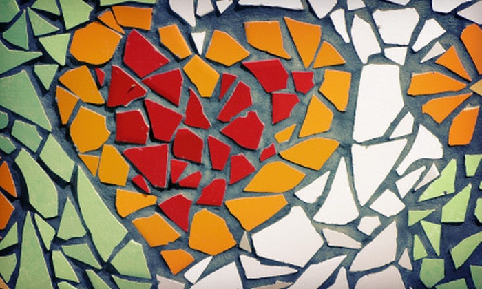 Old Town Stained Glass - Winchester: Two-Hour Mosaic Class for One or Two at Old Town Stained Glass in Winchester (Up to 53% Off)