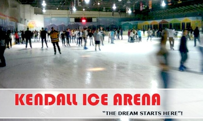 Kendall Ice Arena - The Hammocks: $7 Admission and Skate Rental Plus a $5 Food and Beverage Voucher at Kendall Ice Arena ($14 Total Value)