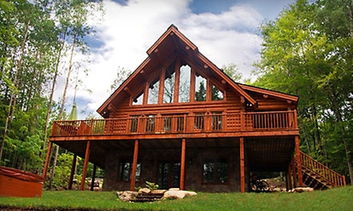 Blueberry Lake - Labelle, Mont-Tremblant: Chalet Stay at Blueberry Lake near Mont-Tremblant. Two Options Available.