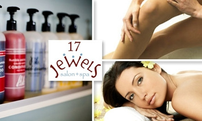 17 Jewels salon+spa - Temescal: $50 for $110 Worth of Salon Services at 17 Jewels